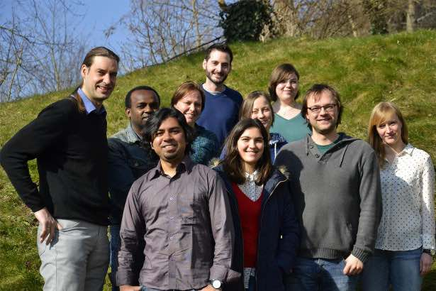 Current team members of the working group (photo by M. Alt) – check out individual pages here: https://www.uni-koblenz-landau.de/en/campus-landau/faculty7/environmental-sciences/landscape-ecology/Staff