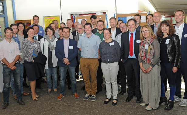 SERIOR project members during the kick-off meeting in Landau.